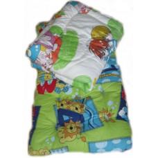 """Набор спальный для детей в садик """"Лайт"""" - ватный матрас 60х140 см, силиконовое одеяло и подушка - от 10 шт"""