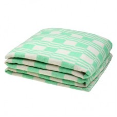 Одеяло хлопковое эконом Ярослав 140х205 зеленое