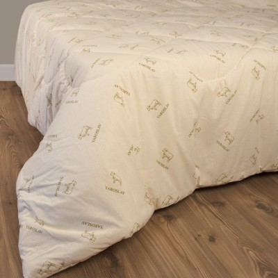 Одеяло мериносовое стеганое Ярослав 140х205